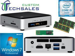 Intel NUC NUC6i5SYK Mini PC (Skylake) i5-6260U,500GB Samsung SSD, 8GB RAM Windows 7 Pro Installed & Configured
