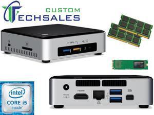 Intel NUC NUC6i5SYK Mini PC (Skylake) i5-6260U, 120GB Samsung SSD, 8GB RAM, Assembed and Tested