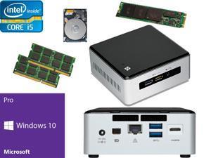 Intel NUC NUC5i5RYH Mini PC i5-5250U, 1TB M.2 SSD, 1TB HDD, 32GB RAM, Windows 10 Pro Installed & Configured
