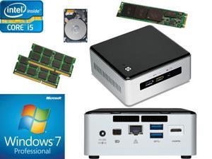 Intel NUC NUC5i5RYH Mini PC i5-5250U, 250GB M.2 SSD, 1TB HDD, 16GB RAM, Windows 7 Pro Installed & Configured