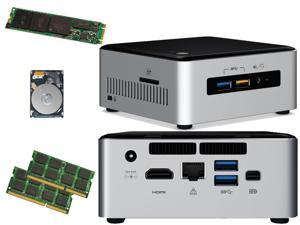 Intel NUC NUC6i5SYH Mini PC (Skylake) i5-6260U, 120GB Samsung SSD, 1TB Hard Drive,  8GB RAM, Assembed and Tested