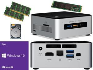 Intel NUC NUC6i5SYH Mini PC (Skylake) i5-6260U,500GB Samsung SSD, 1TB Hard Drive,  8GB RAM Windows 10 Pro Installed & Configured
