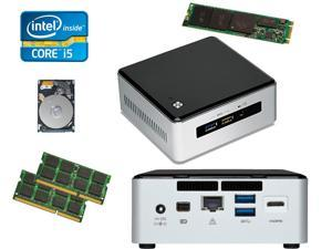 Intel NUC NUC5i5RYH Mini PC i5-5250U, 500GB M.2 SSD, 1TB HDD, 16GB RAM, Assembled & Tested