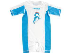 Cressi Blue Babaloo Sun Protective Baby Infant Suit, Size S (6-9MO)