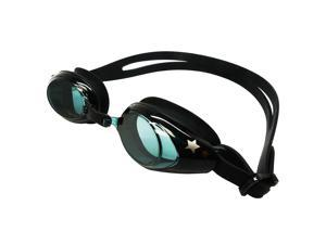 Palantic Black UV Nearsighted Prescription Corrective Youth Swim Goggles (-2.0)