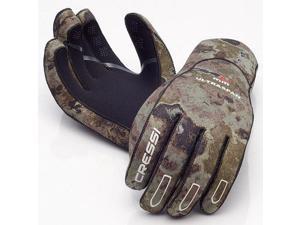 Cressi 2.5mm Camo Ultraspan Gloves Size XL