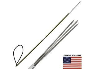 CARBON FIBER 7' Travel Spearfishing 2Pole Spear 3 Prong Paralyzer Hawaiian Sling
