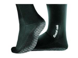 Cressi Neoprene 2.5mm Anti-slip Boots Black Size M