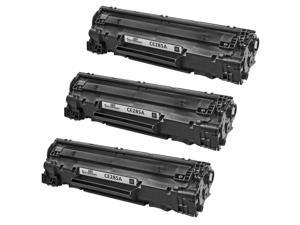3 Pack Alternative Replacement Laser Toner Cartridge for Hewlett Packard CE285A HP 85A Black for use in LaserJet Pro M1132 LaserJet Pro M1212nf LaserJet Pro M1217nfw MFP LaserJet Pro P1102 & P1102W