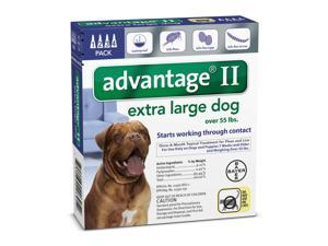 Advantage II for Dogs X-Large Blue 4 Months