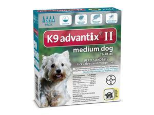 K9 Advantix II for Dogs Medium Teal 4 Months