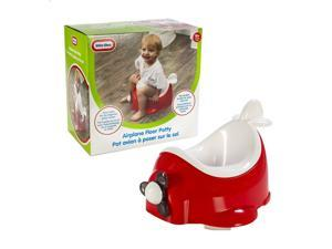 Little Tikes Portable Airplane Potty Seat, Red