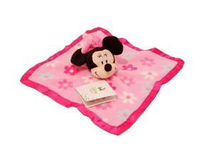 Disney Baby Pink Minnie Mouse Pink Security Blanket