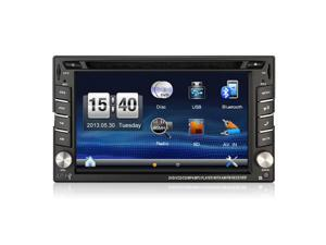 2 DIN In Dash Car DVD GPS Player Double Radio Stereo MP3 Head Unit CD RDS Camera parking 2DIN HD TV Radio Video Audio