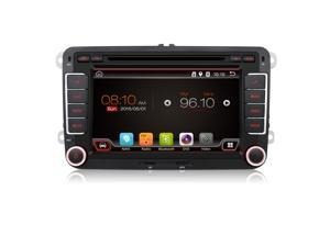 Android 4.4 Car DVD VW GPSs Navigation - Wifi + Bluetooth + Auto Radio 2 Din for Volkswagen GOLF 4 5 6 POLO PASSAT JETTA TIGUAN