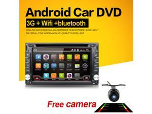 In Dash Universal Double 2 Din Pure Android Car DVD player GPS+Wifi+Bluetooth+Radio+1GHZ CPU+DDR3+Touch Screen+3G+car pc+aduio