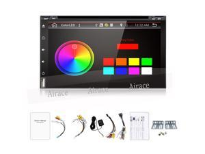 Pure Android 4.4 Full-Touch Car PC Tablet double 2 din audio GPS Navi Car Stereo Radio No-DVD mp3 Player Bluetooth DVD Wifi CAM