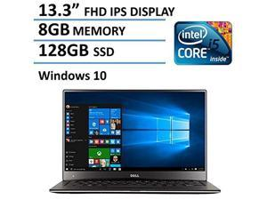 2016 Newest Dell XPS 13 High Performance Laptop with 13.3  FHD IPS Infinity Borderless Display, Intel Core i5-5200U Proc
