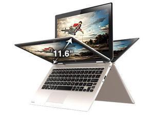 2016 Newest Toshiba Satellite Radius 11.6  2-in-1 Touchscreen Convertible Laptop (Intel Quad-Core Pentium N3700, 4GB RAM