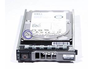 55RMX - DELL ENTERPRISE CLASS 500GB 7.2K SAS 2.5  6Gbps INTERNAL HARD DRIVE W/G176J TRAY