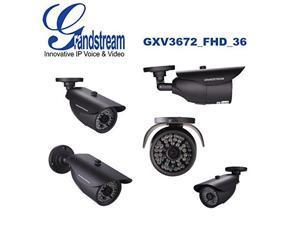 Grandstream Electronics Outdoor Day/Night FHD IP Camera 3.6 MM L Grandstream Ele