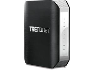 TRENDnet TEW-818DRU AC1900 Dual Band Wireless AC Gigabit Router, 2.4GHz 600Mbps+5Ghz 1300Mbps, One-Touch Network connect