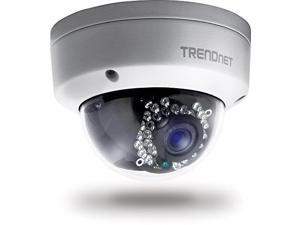 TRENDnet Indoor/Outdoor (TV-IP311PI) Dome Style, PoE IP Camera with 3 Megapixel Full HD 1080p Resolution, Digital WDR, I