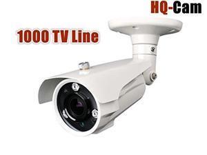 Hq-cam® 1000TV Lines High Resolution Security Outdoor/indoor Weatherproof Camera 1/3  Sony Ex-View II CCD 3IR Matrix Inf