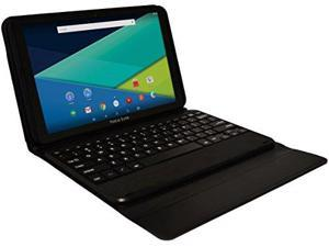 Visual Land Prestige ELITE A10QI - 10  IPS INTEL Atom X3 QuadCore 16GB Android 5.1 Lollipop Tablet w/Keyboard (Black)