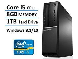2016 New Edition Lenovo Ideacentre High Performance Flagship Slim Desktop, Intel Core i5 Processor up to 3.4GHz, 8GB DDR