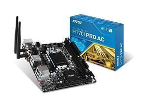 MSI MSI MB H170I Pro AC Skylake i3 i5 i7 H170 S1151 DDR4 32G SATA PCIE Mini-ITX / H170I PRO AC /