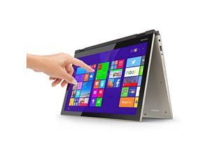 Toshiba Fusion 15 L55W 15.6  2 in 1 Convertible Touchscreen Laptop:Core i5-5200u processor,8GB Ram, 1TB HDD, Backlit Key