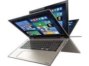 Toshiba - Satellite Radius 15 2-in-1 15.6  Touch-Screen Laptop - Intel Core i7 - 8GB Memory - 1TB Hard Drive - Brushed M