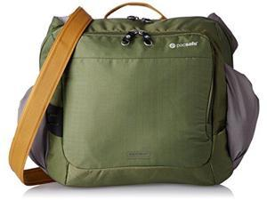 Pacsafe Venturesafe 350 GII Anti-Theft Shoulder Bag, Olive/Khaki