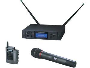Audio-Technica AEW-4314AC 4000 Series Wireless Handheld Microphone and Body Pack Combo System