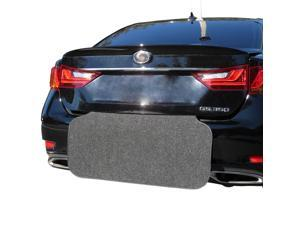 Rear Bumper Protector (Black) and Trunk Mat - Prevent Scratches While Unloading and Loading - Easily Folds Away