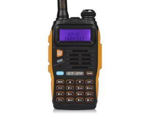 Baofeng Pofung GT-3TP Mark-III Tri-Power 8/4/1W Two-Way Radio Transceiver, Dual Band 136-174/400-520 MHz True 8W High Power Two-Way Radio, with 23CM High Gain Antenna, Upgraded Chip