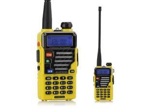 BaoFeng UV-5R Plus Qualette Two way Radio (Imperial Yellow)