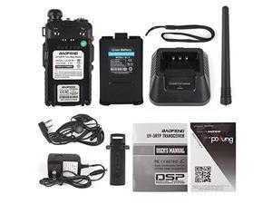 Baofeng UV-5RTP Tri-Power 8/4/1W Two-Way Radio Transceiver (Upgraded Version of UV-5R with Tri-Power), Dual Band 136-174/400-520MHz True 8W High Power Two-Way Radio