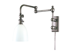 Hudson Valley Roslyn 1 Light Wall Sconce in Polished Nickel - 772-PN