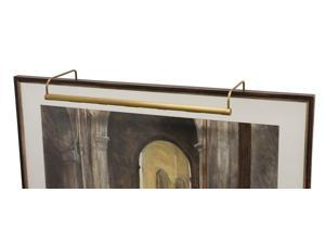 "House of Troy Slim-line 21"" Weathered Brass Picture Light - SL21-76"