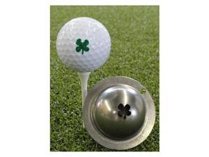 Tin Cup Golf Ball Custom Marker Alignment Tool - Luck Of The Irish