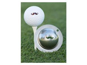 Tin Cup Golf Ball Custom Marker Alignment Tool - Stache