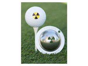 Tin Cup Golf Ball Custom Marker Alignment Tool - Radioactive