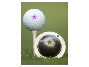 Tin Cup Golf Ball Custom Marker Alignment Tool - Lone Star