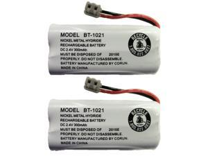 NEW! Genuine Uniden BT-1021 BBTG0798001 Cordless Handset Rechargeable Battery (2-Pack)