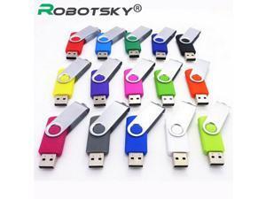 USB pen drive 4GB 8 GB 16 GB 32 GB small colorful swival Flash Drive USB Flash Drive