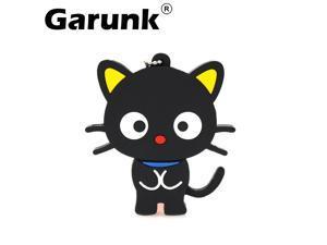 Garunk usb flash drive pen drive u disk 4gb 8g 16g 32g Cartoon Black Cat USB Memory Flash Drives Thumb Pen Drive