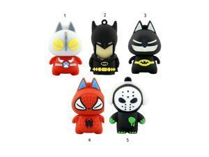 Hot Pen Drive Genuine 4G 8G 16 32G USB 2.0 USB Flash Drive Flash Memory Pen Drive Cartoon Character spider man batman USB Drive
