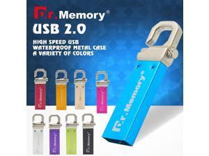 Dr.memory USB Flash drive Metal Flash Memory 8 Colors 4G U stick 8G memory drive 16G flash usb drive 32G mini memoria USB